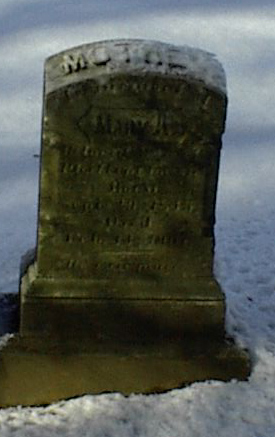 Photo of Mary Agnes Gleason's Graves At St Mary Govans Cemetery Section F in Baltimore, MD