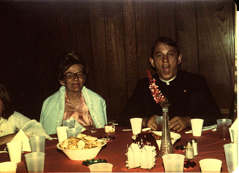 Photo of Helen Heilmann and Rev Edward Heilmann